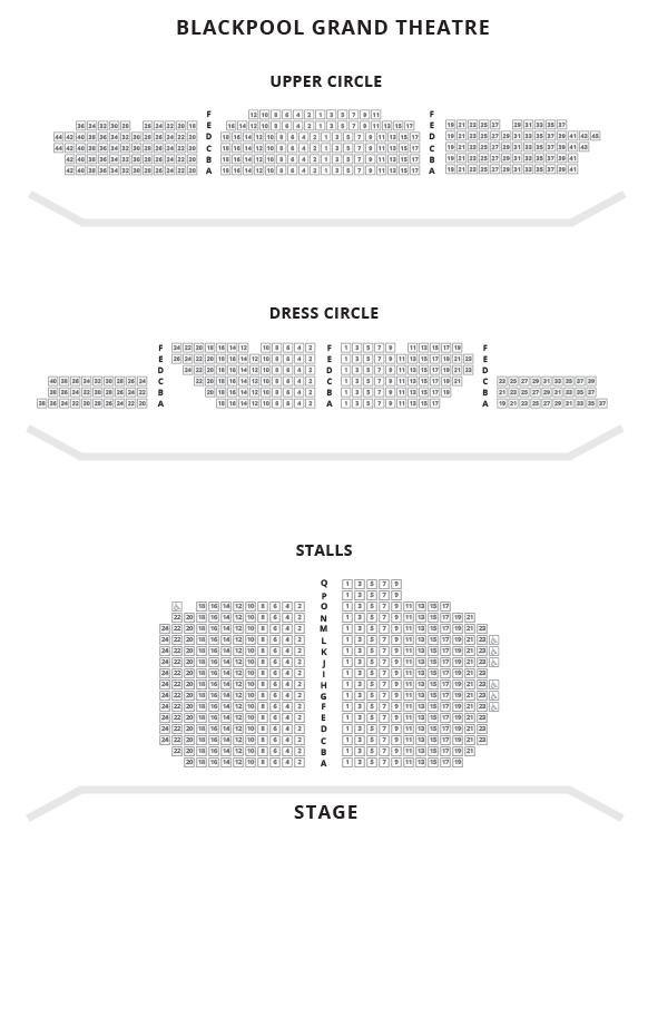 Opera house seating plan blackpool escortsea - Winter garden theatre box office hours ...